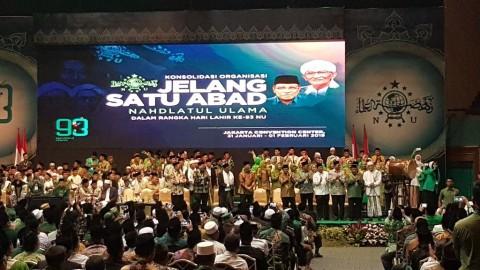 President Jokowi Attends NU 93rd Anniversary Celebration