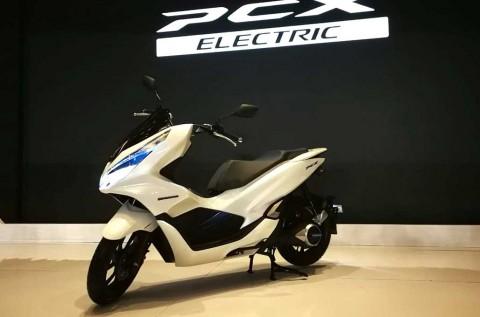 Honda PCX Electric Meluncur, Tapi Tidak Dijual!