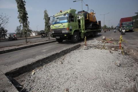 Penambalan Jalan Berlubang di Jakarta Masih Bersifat Sementara