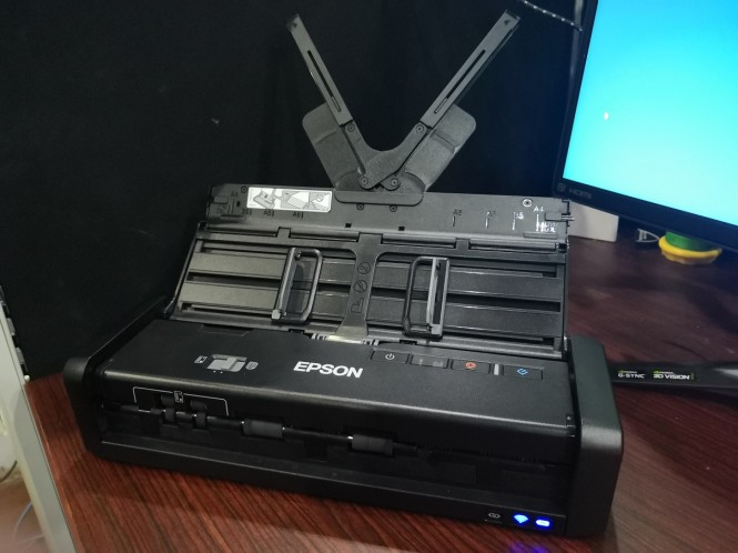 ?Epson WorkForce DS-360W.