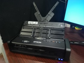 Epson WorkForce DS-360W, Scanner Portabel Mumpuni