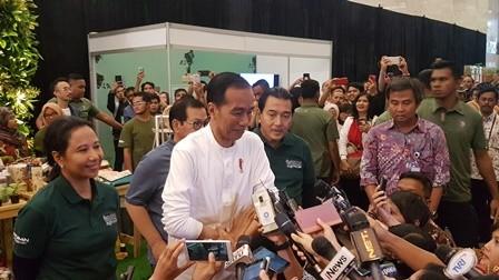 Jokowi Bersyukur Indeks Persepsi Korupsi Indonesia Membaik