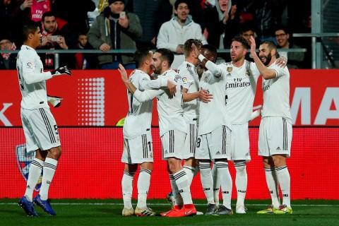 Real Madrid Melaju ke Semifinal Copa del Rey