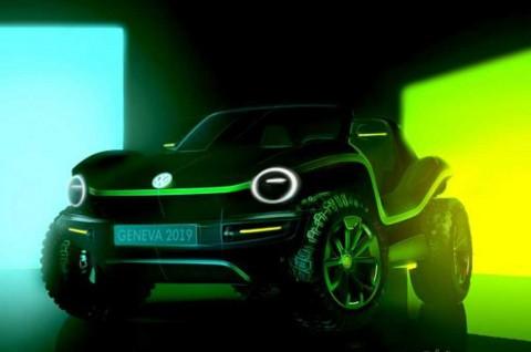 Dune Buggy Concept dari Volkswagen, Bakal Nongol di Jenewa