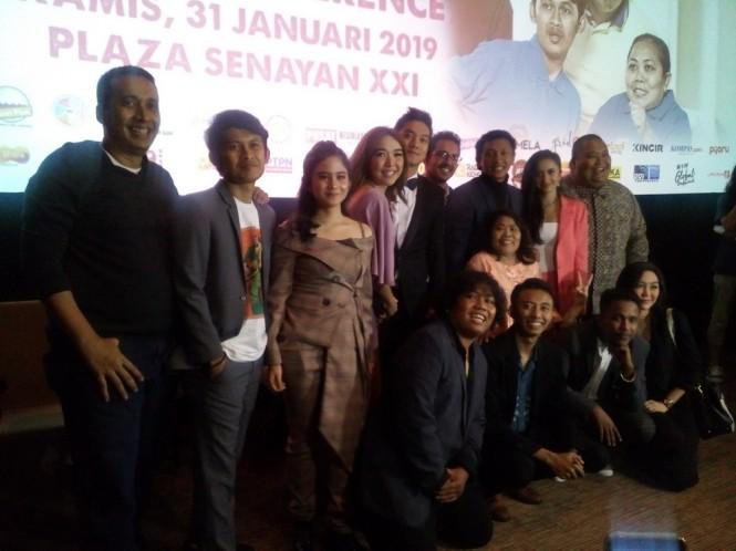 Jumpa pers film Laundry Show di Plaza Senayan, Jakarta Pusat, Kamis 31 Januari 2019. (Foto: Medcom.id/Cecylia Rura)