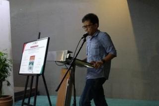 Rocky Gerung ke Peluncuran Buku Sebelum Diperiksa