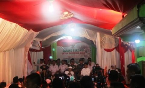 Presiden Hadiri Sarang Berzikir di Ponpes Al Anwar