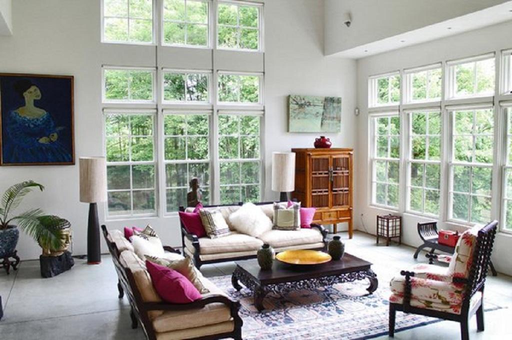 Foto ruang tamu, homedesignlover/Laura Garner Design