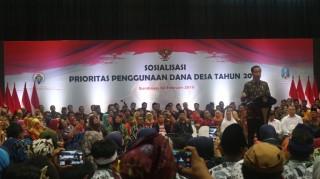 Presiden: Masyarakat Puas dengan Dana Desa