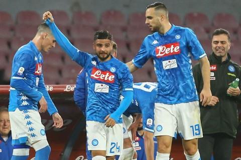 Napoli Terlalu Tangguh buat Sampdoria