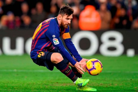 Messi Selamatkan Barcelona dari Kekalahan
