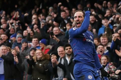 Hazard: Higuain Bisa Mencetak Banyak Gol