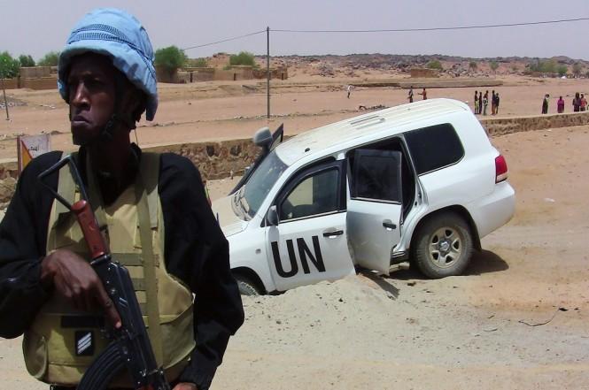 Personel penjaga perdamaian PBB di Mali. (Foto: AFP)
