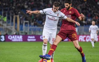 Roma Berbagi Angka dengan Milan