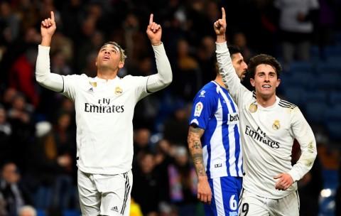 Bantai Alaves, Madrid Pangkas Jarak dengan Atletico