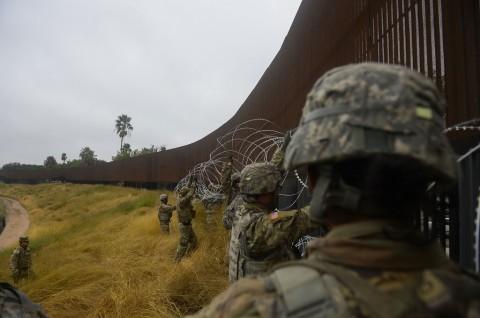 AS Kirim Tambahan 3.750 Prajurit ke Perbatasan Meksiko