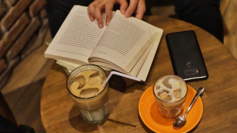 Ice Pandan Latte ini, sukses mempresentasikan 'taste' dari orang Indonesia. (Foto: Isti/Medcom.id)