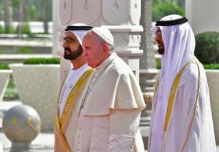 Paus Fransiskus akan Pimpin Misa Kudus di UEA