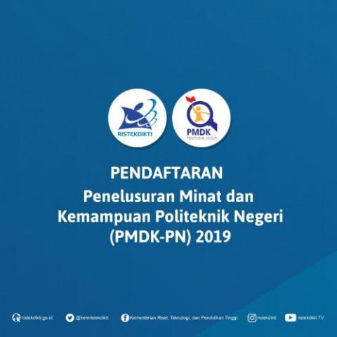 42 Politeknik Buka Jalur PMDK-PN dan UMPN