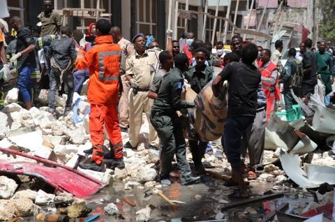 Sembilan Orang Tewas Terkena Ledakan di Pasar Somalia