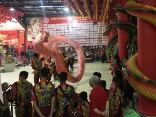 Meriahnya Tahun Baru Imlek 2570 di Tangsel