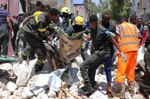 Bom Mobil Guncang Somalia, 11 Tewas
