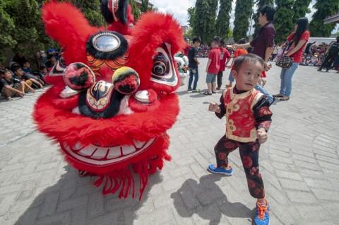 Perayaan Imlek di Palu Momen Silaturahmi Pascabencana