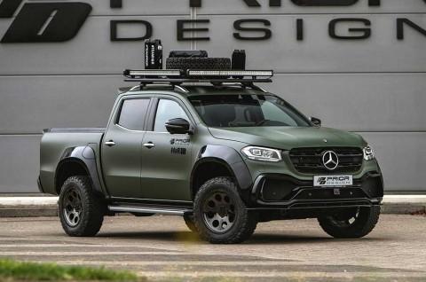 Ubahan Ringan Mercedes X-Class ala Prior Design