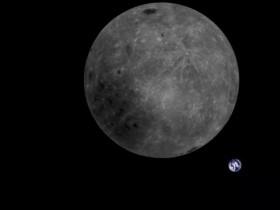 Begini Foto Bulan dari Satelit Tiongkok
