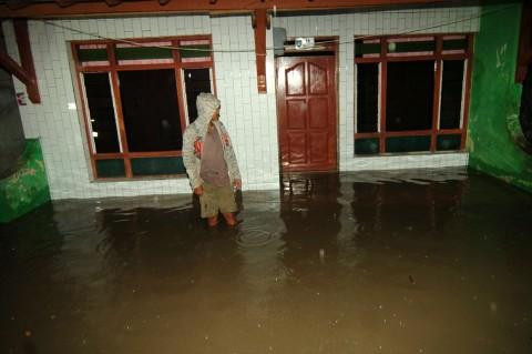 Banjir Rendam Ratusan Rumah di Tegal