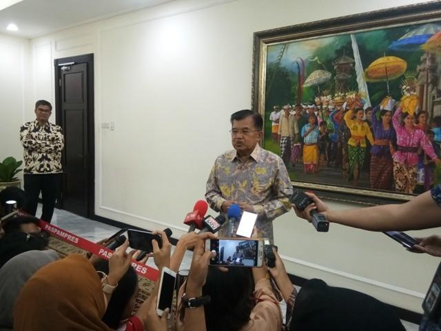 Wapres Jusuf Kalla/Medcom.id/Fikar