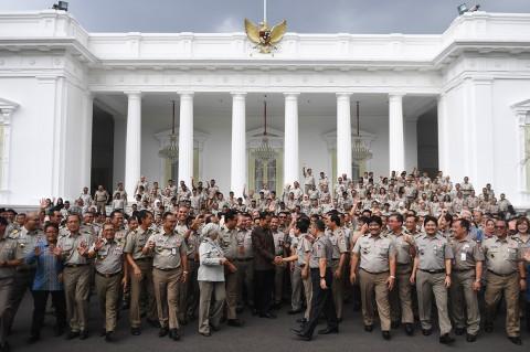 Jokowi Janjikan Tunjangan Kinerja Bagi PNS ATR/BPN