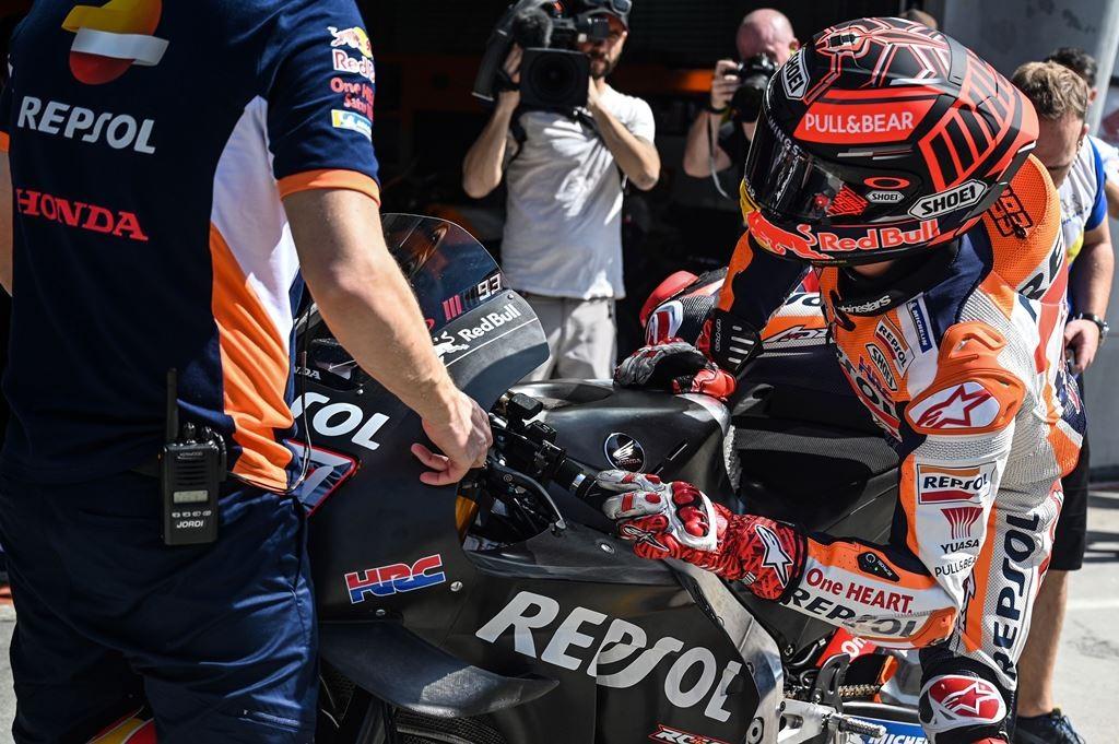 Marc Marquez. (Foto: AFP/Mohd Rasfan)