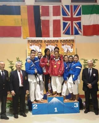Karateka Putri Indonesia Raih Medali Emas di Italia