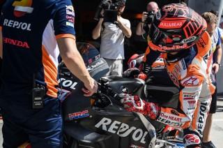 Cedera Tak Halangi Marquez Jadi yang Tercepat di Sepang