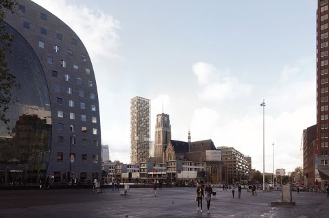 Membangun Kenangan Rotterdam di Gedung 43 Lantai