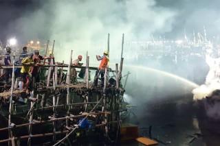 Tiga Kapal Nelayan di Tuban Terbakar