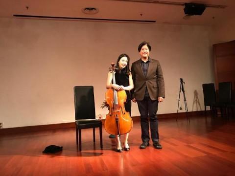 Master Cello Hee Young Lim Berikan Pelatihan Anak Indonesia