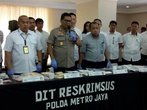 Polisi Bongkar Peredaran Obat Ilegal
