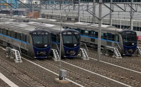 MRT, LRT dan KRL Tahun Ini Terintegrasi Satu Kartu
