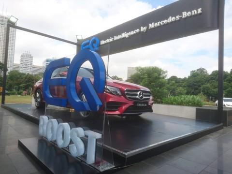 EQ Boost, Doping Tenaga Mercedes-Benz