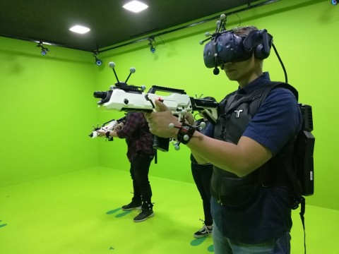 Sandbox VR X CoHive Tawarkan Pengalaman VR Full Body