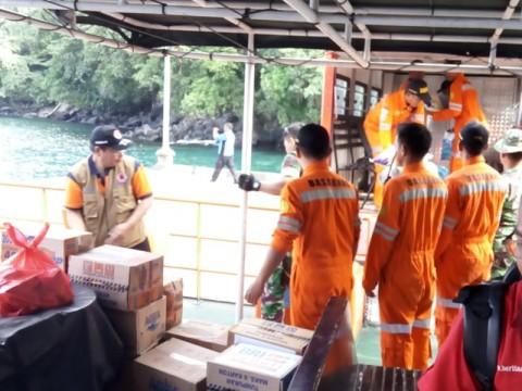 Satu Desa Terisolir Akibat Erupsi Gunung Karangetang