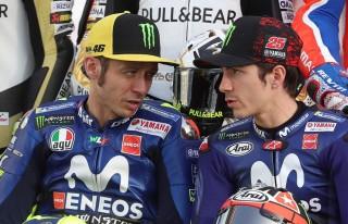 Valentino Rossi Puji Catatan Waktu Vinales pada Hari Kedua