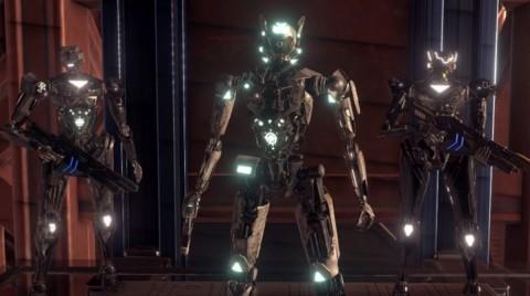 Melawan Invasi Alien Sebagai Robot di Dunia VR