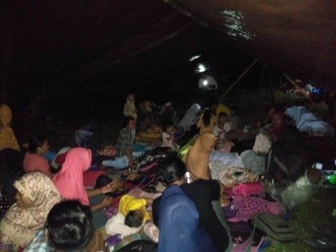 800 Jiwa di Morotai Mengungsi Akibat Gempa