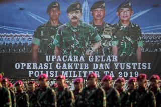 Panglima TNI Pimpin Upacara Operasi Gaktib dan Yustisi 2019