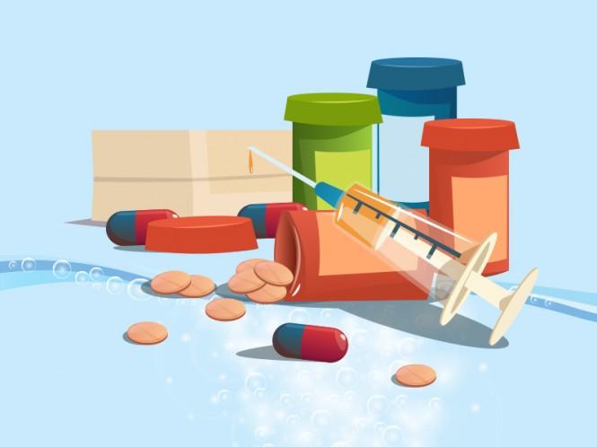 Narkoba. ilustrasi: Medcon.id/Mohammad Rizal.