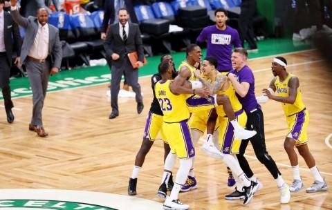 Rondo Menangkan Lakers Atas Celtics