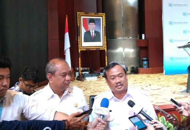 Kepala Pusat Gempa Bumi dan Tsunami Badan Meteorologi dan Geofisika Rahmat Triyono--Medcom.id/Muhammad Syahrul Ramadhan.
